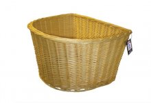 "Adie 16"" ""D"" shape wicker basket"